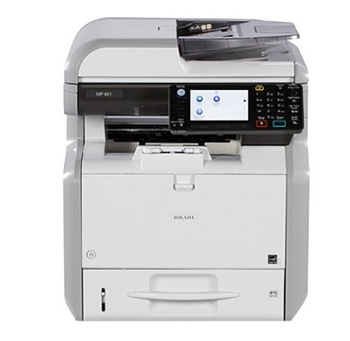 MP 401SPF Black and White Multifunction Printer - Delcom